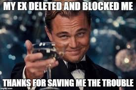Blocked Meme - leonardo dicaprio cheers meme imgflip