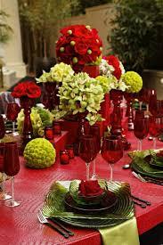 2013 Christmas Table Centerpiece Christmas Flower Centerpiece