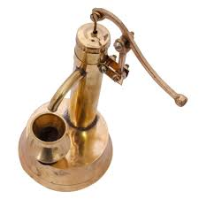 buy aadi enterprises handcrafted brass mini working hand pump is a