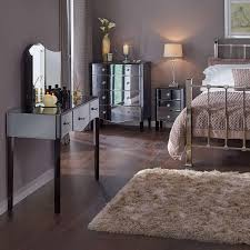 bedroom cool white gloss bedroom furniture mirrored lounge