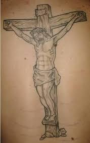 simple religious jesus cross tattoo design tattooshunter com