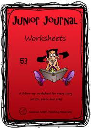 new zealand reading junior journal 53 activity worksheets