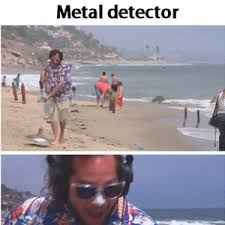 Metal Detector Meme - the real metal detector by doctor ernest calligary meme center