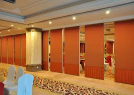 Soundproof Interior Walls Aluminium Movable Sound Proof Partition Wooden Partition Wall