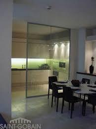 separation de cuisine en verre cuisine verre solutions
