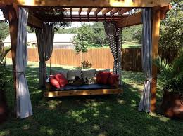 learn how to build your own hanging day bed swing your projects obn