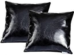 Accent Sofa Pillows by Amazon Com Mybestfurn Pack Of 2 Leather Sofa Pillows Soft Batik
