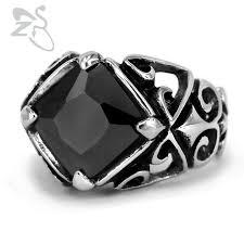 aliexpress buy mens rings black precious stones real aliexpress buy black white cool ring