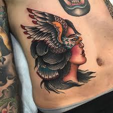 tattoo eagle girl minneapolis tattoo shop sea wolf tattoo co