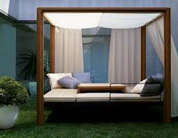 modern outdoor canopy daybed home designing perfect outdoor