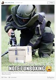 Galaxy Note Meme - reactions to the exploding samsung galaxy note 7