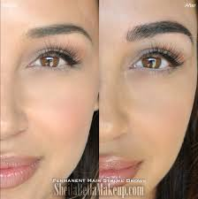 Hair Stroke Eyebrow Tattoo Nyc Microblading Brows Sheila Bella Permanent Makeup And Microblading