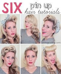 1940s bandana hairstyles 6 pin up hair tutorials school tutorials and hair style