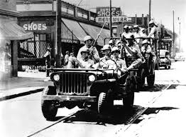 lebron white jeep detroit at crossroads 50 years after riots devastated city cbs