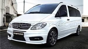 lexus v8 vito mercedes vito w639 custom front bumper front bumper with day