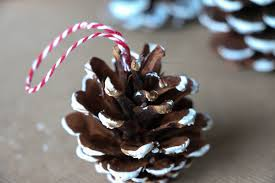 diy pinecone ornaments rumfield homestead
