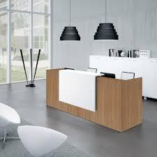 comptoir de bureau quadricor zeta246 comptoir réception zeta l246xp88xh113cm burodepo