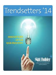 sign builder supplement november 2013 by sign builder illustrated