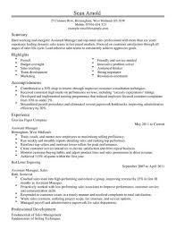 Resume For Assistant Manager At T Assistant Manager Resume 28 Images No College Degree