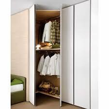armadio angolare per cameretta armadio ad angolo moderno in legno con ante battenti start