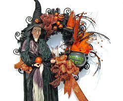 Halloween Wreaths Pinterest by Witch Wreath Halloween Wreath Black By Englishrosedesignsoh