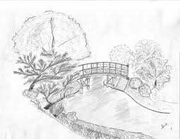 landscape drawing ideas drawing sketch library