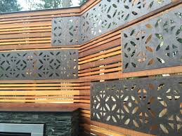 sammamish deck privacy screen with parasoleil inserts sublime