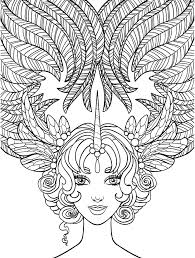 10 crazy hair coloring pages page 11 of 12 crazy hair
