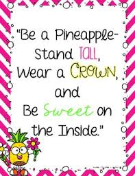 themed quotes pineapple themed inspirational quotes by learning is something to