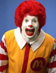 Ronald Mcdonald Halloween Costume Creepy Clown Craze Claims Victim Ronald Mcdonald