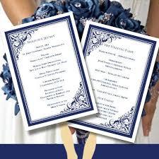 Program Fan Template 14 Best Wedding Program Images On Pinterest Fan Programs