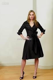 black dress with sleeves knee length naf dresses