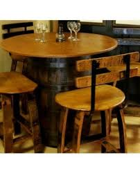 Barrel Bistro Table Wine Barrel Furniture For Sale Recycled And Reclaimed