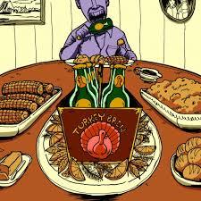 new yorker thanksgiving cartoon drunksgiving a thanksgiving beer guide new york