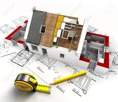 100 blueprints of a house ide modern four bedroom house