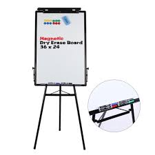 amazon black friday 2017 bultin board amazon com tripod whiteboard 24x36 inches magnetic dry erase