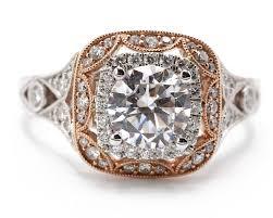 vintage halo engagement rings vintage halo engagement ring silverscape designs