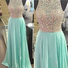 rhinestone prom dresses mint prom dress prom dresses cheap