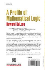 a profile of mathematical logic dover books on mathematics