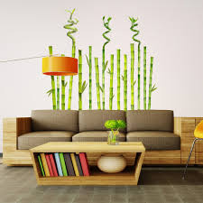 bamboo garden decals wallsneedlove wall decals bamboo garden wall decals will add zen to your home you don t have
