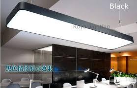 Industrial Fluorescent Light Fixtures Office Pendant Lighting Office Library Reading Led Pendant Lights