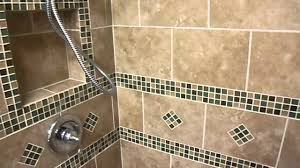 remodeled bathroom with built in shower bench youtube