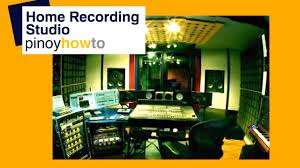 Home Recording Studio Design How To Build A Home Recording Studio Youtube