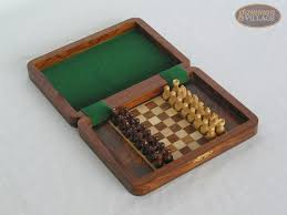 small folding magnetic chess set travel chess sets compact