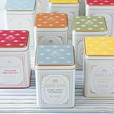wedding tea gourmet tea tins bridal tea tin favors harney sons tea gift tins