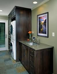 Basement Bathroom Laundry Room Combo Washer Dryer And Sink Combo Rta Cabinet Store