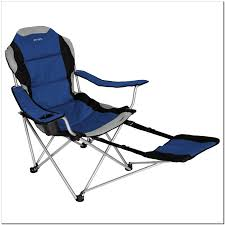 reclining folding chair with footrest finest folding chair with