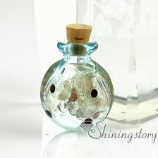 pet ashes jewelry small glass vials wholesale urn charms pet cremation keepsake
