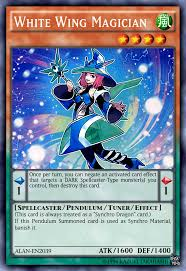 white wing magician by alanmac95 yugioh pinterest