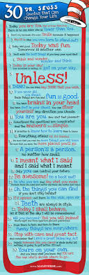 30 dr seuss quotes that can change your daily infographic